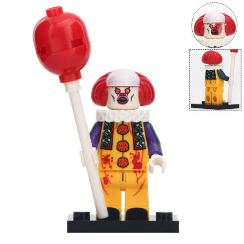 Pennywise Inspired Horror Film Lego Moc Minifigure Gift The Dancing Clown