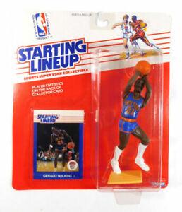 1988 Gerald Wilkins NEW YORK KNICKS Rookie Starting Lineup Figure NEW