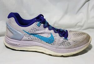 6a92a81c7ad5 Image is loading Nike-Lunarglide-5-Violet-Purple-Running-Shoes-Womens-