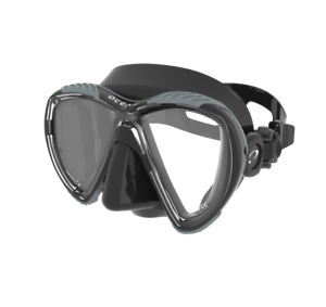 Black Friday Special Oceanic Discovery Mask Titanium Black Scuba Diving Snorkel Ebay