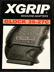 X-Grip-for-GLOCK-26-27-Fits-G19-23-Magazines-for-use-onG26-27-Pistols-XGGL26-27C