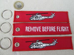 Aérospatiale SuperPuma 3er Set  REMOVE BEFORE FLIGHT  /Avion / Aircraft YakAir