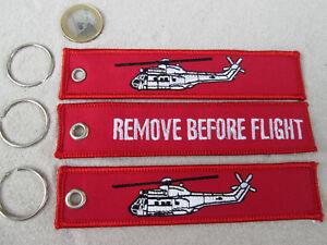 Aérospatiale SuperPuma 3er Set  REMOVE BEFORE FLIGHT  /Avion / Aircraft YakAir