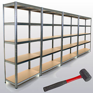 image is loading - Metal Shelving Unit