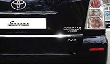 TOYOTA Corolla Verso R1 ZER ZZE Chrom Zierleiste 3M Heckleiste II