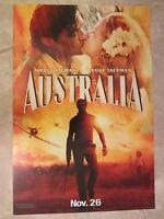 Australia Movie Poster (b) Hugh Jackman, Nicole Kidman, Baz Luhrman 13.5 X 20
