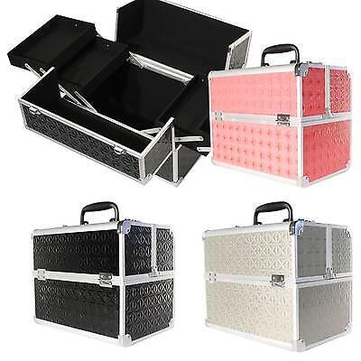Kosmetikkoffer Beautycase Werkzeugkoffer Multikoffer Schminkkoffer 3 Farben