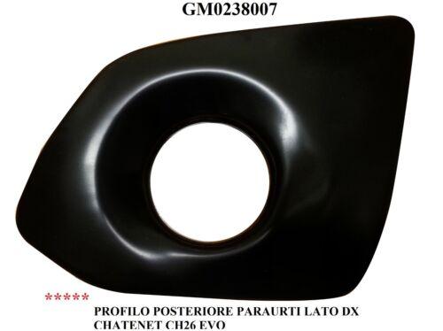 Profil Stoßstange Hinten Rechts Chatenet Ch 26 Evo Gm0238007