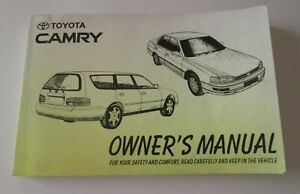 TOYOTA-CAMRY-Owner-039-s-Manual-1994-Car-Automotive