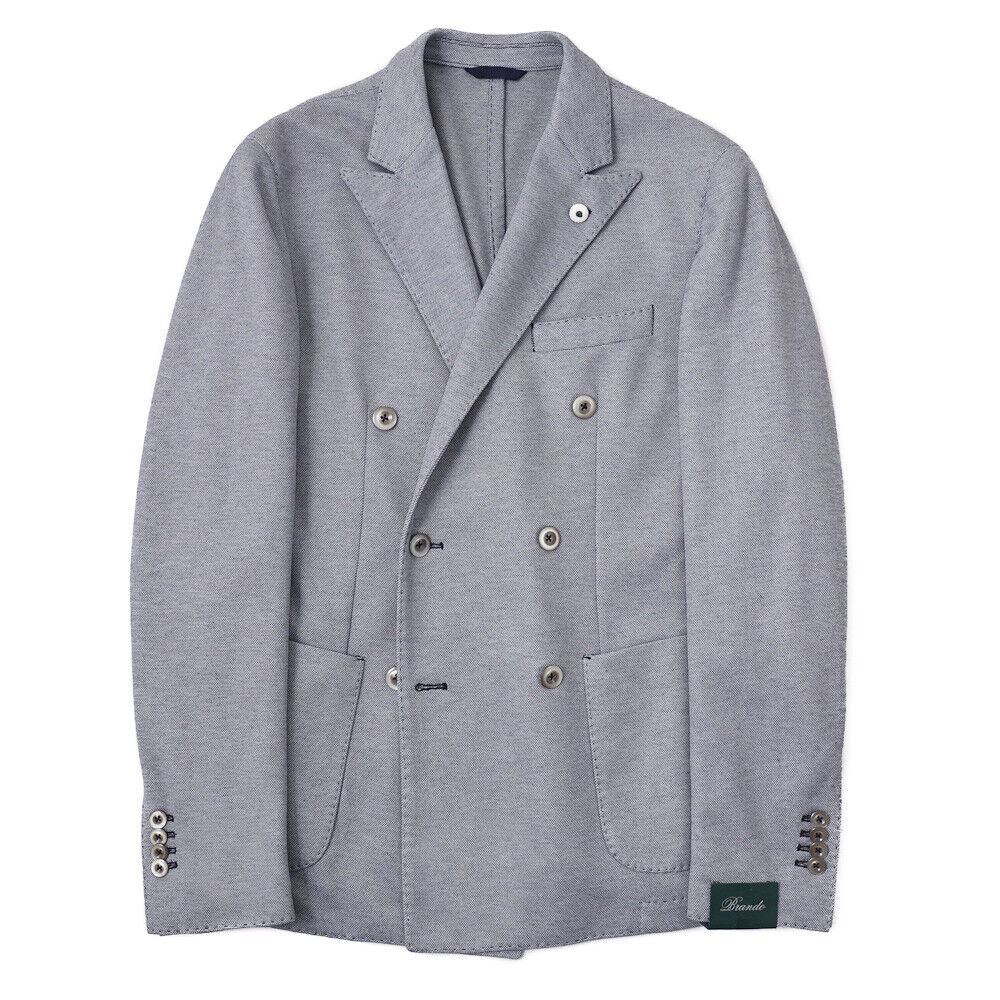 NWT  BRANDO (L.B.M. 1911) Knit Jersey Cotton Blazer 40 R Sport Coat
