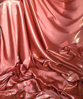 "1 X Mtr Two Tone  Black Gold Shimmer Satin Fabric Bridal Dance Evening Dress 58"""