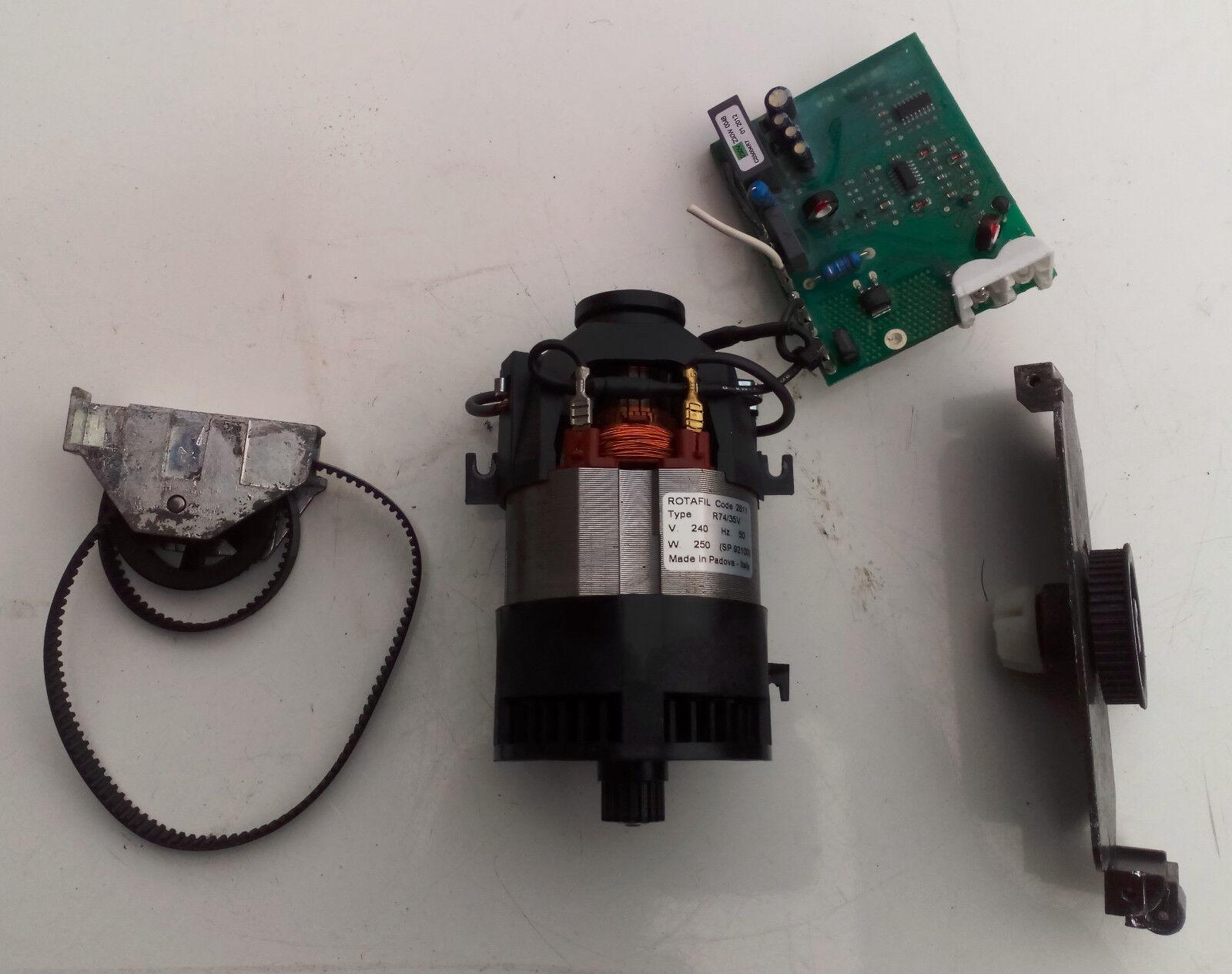 Lindhaus MP30, MP38, LW30, LW38 (lindwash) LW 32 Complete Brush Motor 240 V