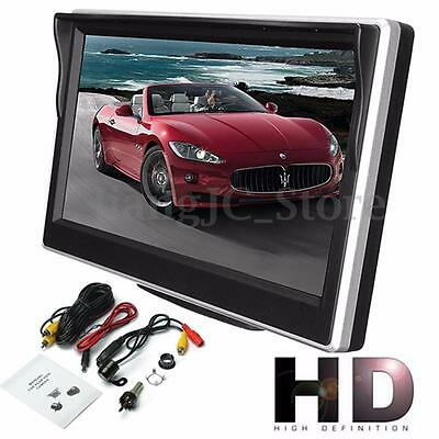 "5"" Rear View Monitor TFT LCD Digital Screen For Vehicle Car Reverse Camera VCR"