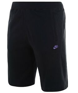 3f6887f7dc69 New Mens Nike Jersey Shorts - Sports Gym Training Knee Length Cotton ...