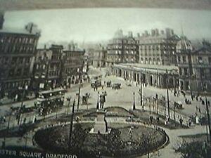 postcard unused sepia forster square bradford - Leicester, United Kingdom - postcard unused sepia forster square bradford - Leicester, United Kingdom