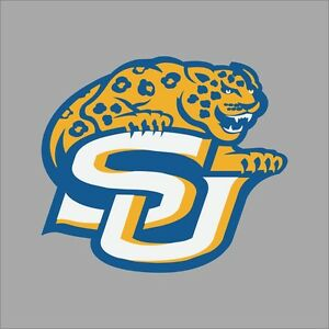 Southern Jaguars NCAA College Vinyl Decal Sticker Car Window Wall - College custom vinyl decals for car windows