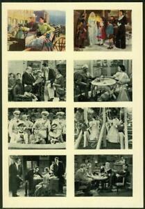 1940-A-amp-M-Wix-Cinema-Cavalcade-Volume-2-Proof-Uncut-Sheet-8-Cards