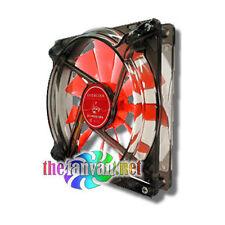 Evercool Red Scorpion Silent 140mm Fan w/ 120mm Adapter