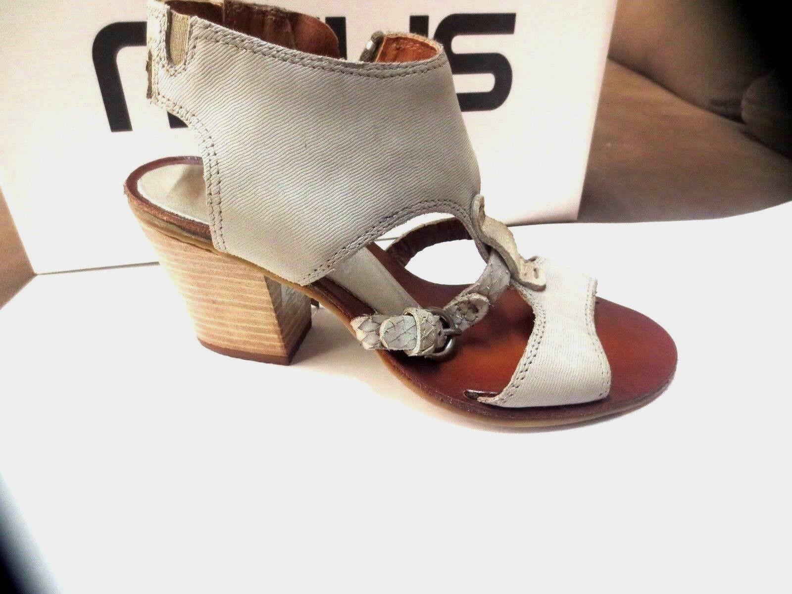 MJUS sandal leather sabbia new value 129TH Sizes 37,40