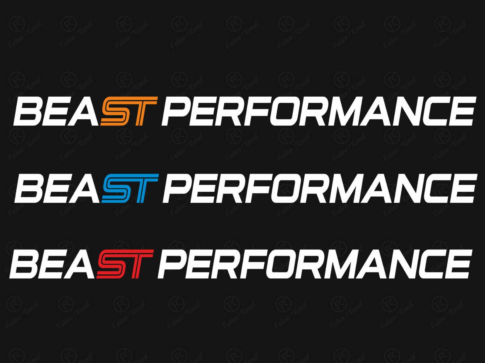 Rennstreifen Seitenstreifen Aufkleber Tuning passend für Ford Focus ST RS MK3