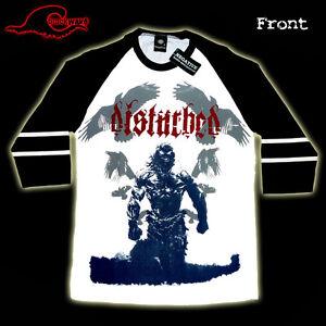 Disturbed-Raven-Soft-Lightweight-3-4-Baseball-Band-Shirt