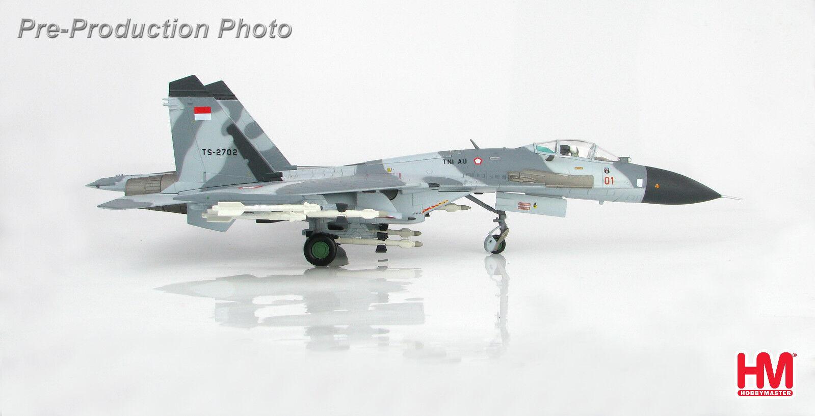 Hobby Master HA6004 1 72 Su-27SK accionariado B escuadrón de TS-2701, 11th, Indo