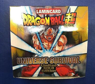 UNIVERSE SURVIVAL LIMITED GOLD EDITION BOX DRAGON BALL SUPER NUOVO