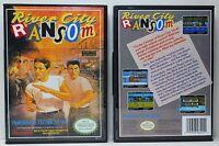 River City Ransom - Nintendo Nes Custom Case - No Game