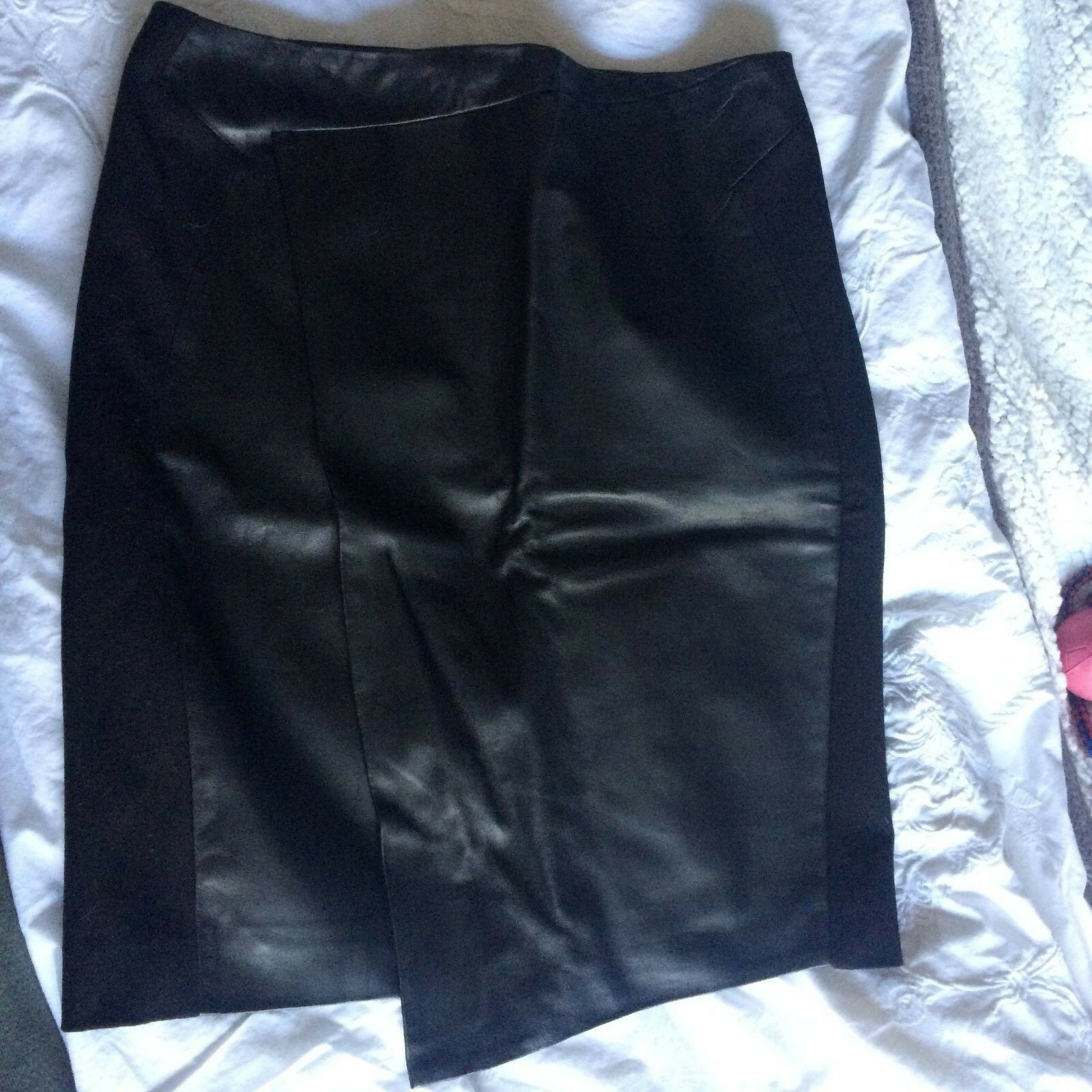 Paul Smith Leather Skirt RRP .00
