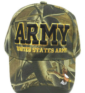 Details about ARMY VETERAN Cap/Hat w/ Eagle 3D Embroidery Camoflauge  Military*FREE SHIPPING