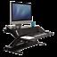 Fellowes-8080301-Lotus-DX-Adjustable-Sit-Stand-Workstation-Black thumbnail 1