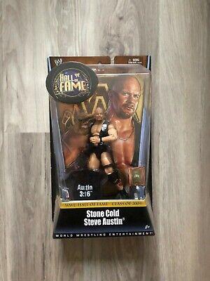 Wwe Mattel Elite exclusivo Flashback Steve Austin em Estado perfeito no cartão Wwf Stone Cold
