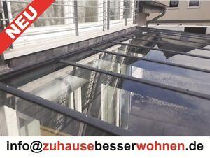 terrassen berdachung carport berdachung aluminium terrassendach vsg glas 3x3 5m ebay. Black Bedroom Furniture Sets. Home Design Ideas