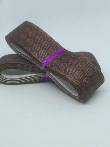 "1"" //25mm Wide 044 Designer Grosgrain Ribbon Craft 5 Yards Hair Bow Ribbon"