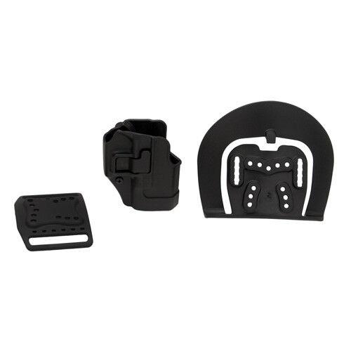 NEW BlackHawk Serpa CQC Belt Loop and Paddle Holster For Glock 26//27 410501BK-R