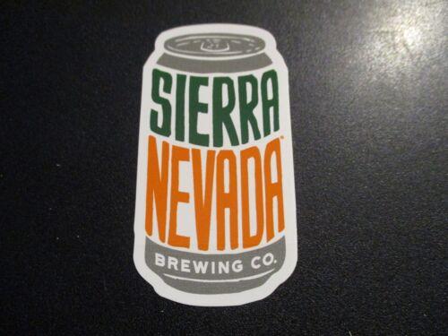 SIERRA NEVADA BREWING can design logo PALE ALE STICKER decal craft beer chico