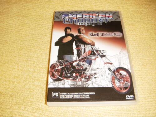 1 of 1 - AMERICAN CHOPPER The Series BLACK WIDOW BIKE 2005 DVD TV Show Season R4