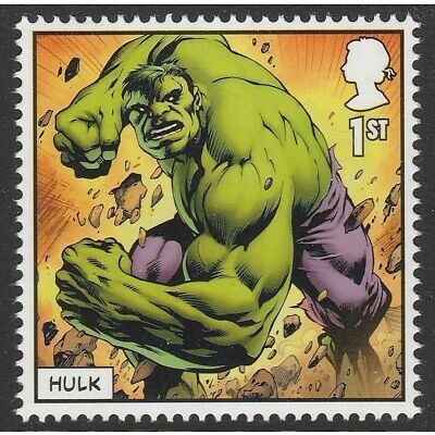 UK MARVEL Hulk single (1 stamp) MNH 2019 after March 31