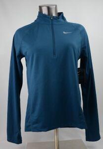 854945 Half Blue o Core Top Tama con Zip para Nuevo Mid Xs mujer Nike etiquetas 425 l qZTFEF