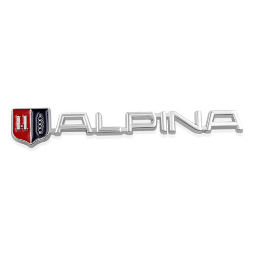 Letter Trunk Rear Emblem Decal Sticker fits for ALPINA ALL CAR MODELS