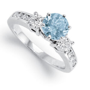 80cwt-Aquamarine-72cwt-Diamond-Engagement-Ring-14k-White-Gold-Sizes-4-to-9-5