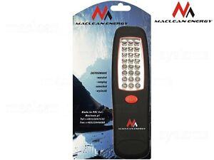 24-LED-Taschenlampe-Led-Arbeitsleuchte-24-Leds-Magnethalter-Camping-KFZ-Haken