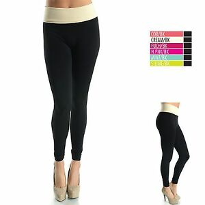 Details about SEAMLESS HIGH WAIST TUMMY TUCK LONG LEGGINGS YOGA WORKOUT  SKINNY PANTS #EX906 IW