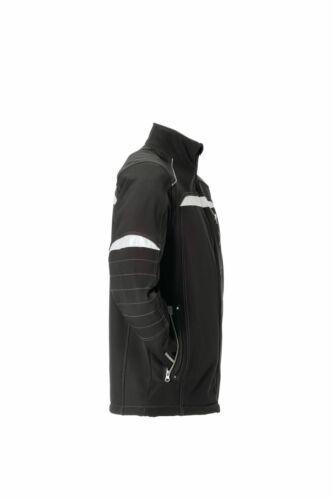 Planam Durawork Herren Softshelljacke schwarz grau Modell 2950