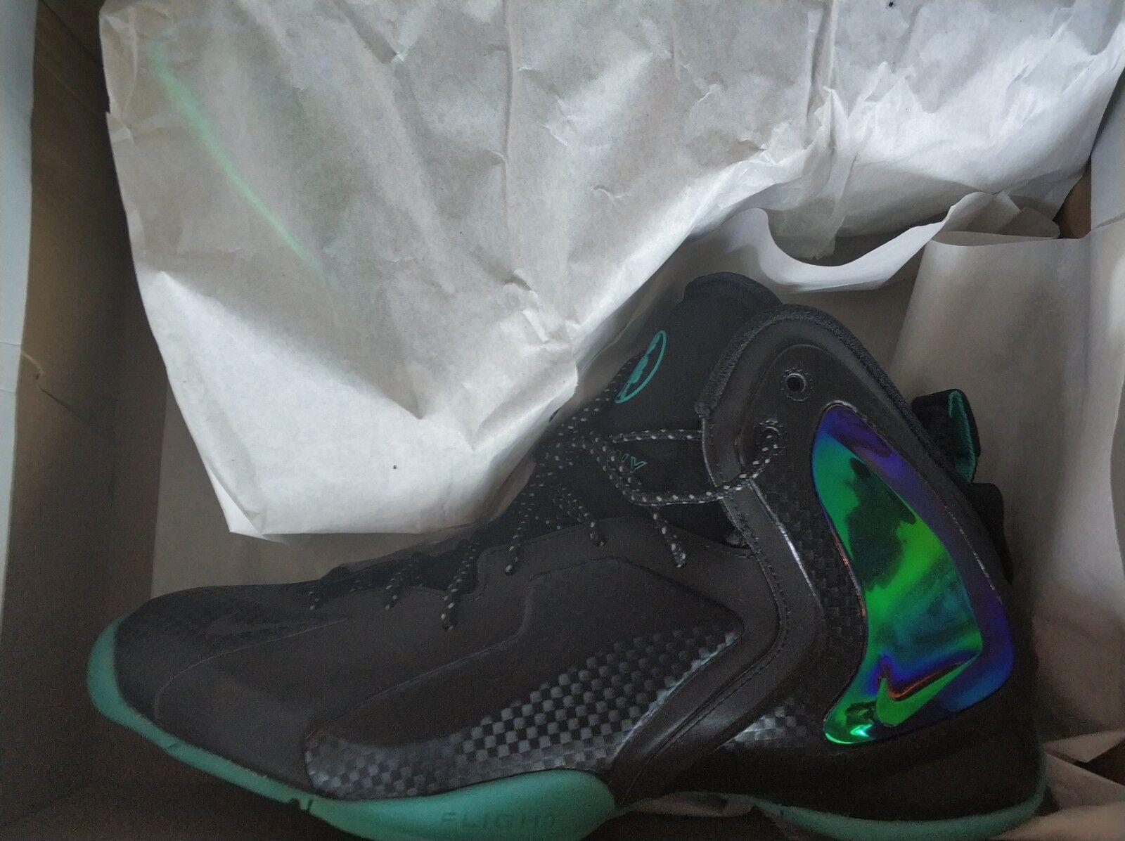 sports shoes a83d5 bf4ff certaines 630999-002 hyper jade nike lil penny nous 12,5 12,5 12,5 hommes  de basket ball 6acfcb