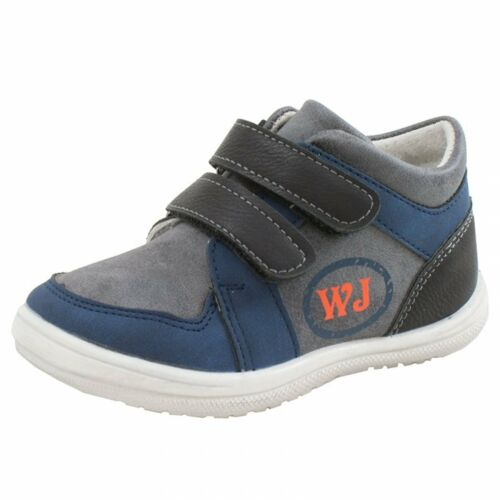 NEW BOYS KIDS BABY LEATHER LINED TRAINERS FIRST WALKING SHOES STRAPS BOOTS SIZES