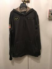 online store dbfd9 fb719 NEW YORK JETS 2016 NIKE NFL SALUTE TO SERVICE HOODIE XL ...