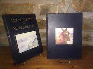 Les-portraits-du-Mont-Blanc-Savoie-l-039-uvre-peint-par-Coppier-2-volumes-1993