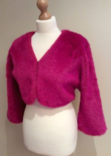 Rose Fur 14 Faux Taille Jacket Mexx qCwUOfdxq