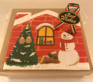 Japanese Christmas Tree.Details About 18pc Japanese Kitkat Christmas Tree Snowman Gift Box Set 18 Flav Kit Kats